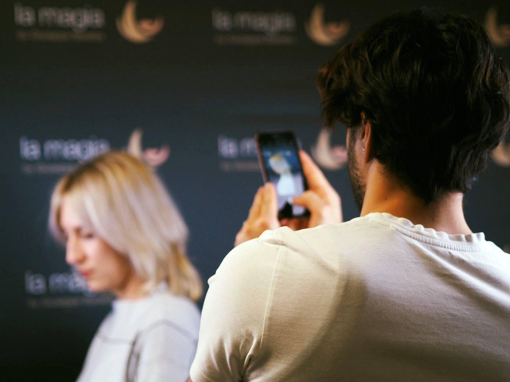 Haarschnitt wird fotografiert - Friseur Pforzheim